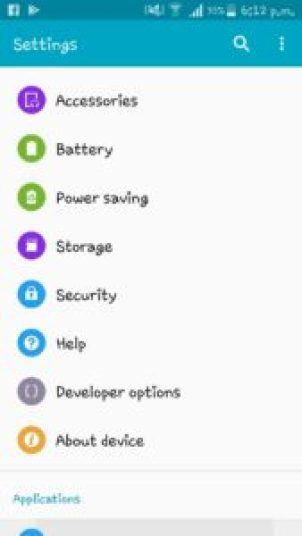 Before downloading freedom apk, you need to change the unknown source option to enable from settings