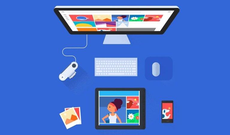 Как загрузить бумажные фотографии в Google Фото
