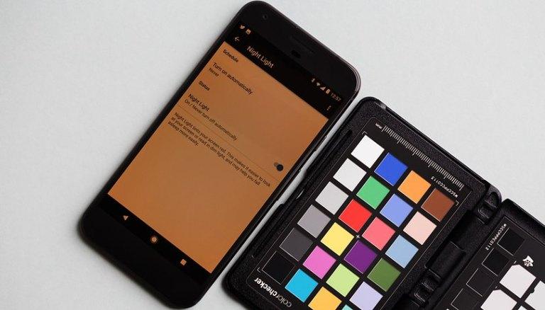 Как активировать фильтр синего света на Android