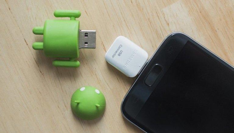 Как подключить внешний накопитель к вашему телефону через USB