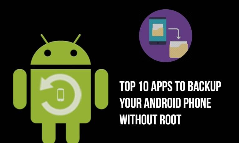 Топ 10 приложений для резервного копирования телефона Android без рута