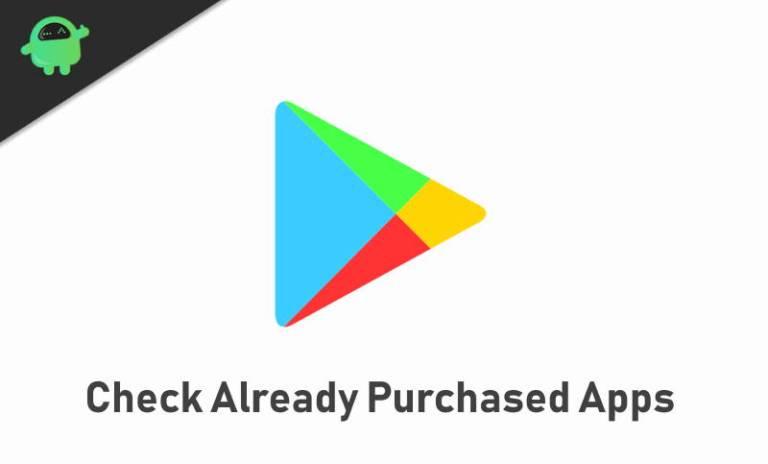 Как найти уже купленные приложения в магазине Google Play