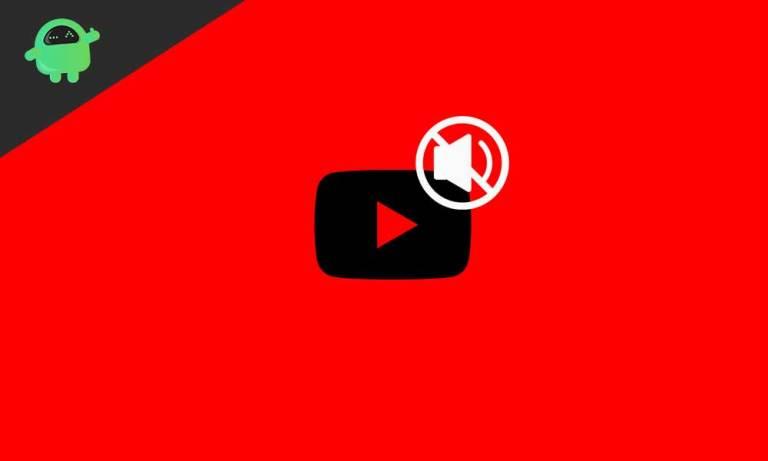 Нет звука в видео на YouTube