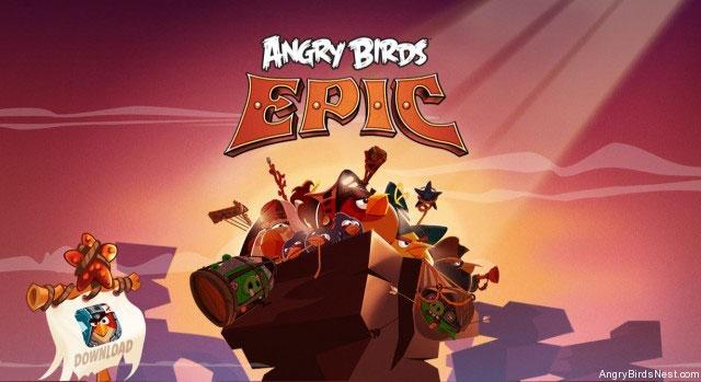 Скачать New Angry Birds Epic для iOS
