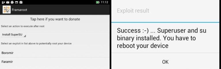 Как рутировать Galaxy S3 с помощью Framaroot