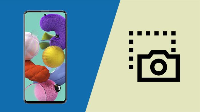 Как сделать снимок экрана / снимок экрана на Galaxy A51