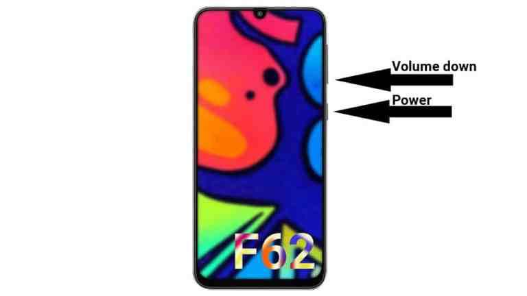 3 способа сделать снимок экрана на Samsung Galaxy F62
