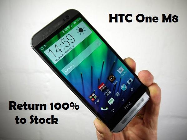 Как вернуть HTC One M8 100% полностью на склад