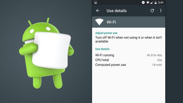 Возникли проблемы с разрядкой батареи Wi-Fi Marshmallow?  Как это исправить