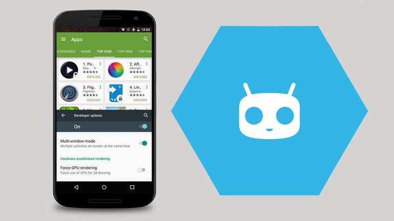 Как включить многооконный режим на CyanogenMod 13 ROM