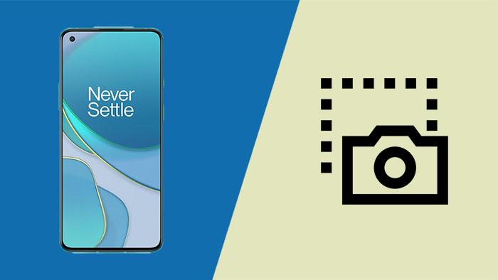 Как сделать снимок экрана на OnePlus 8T