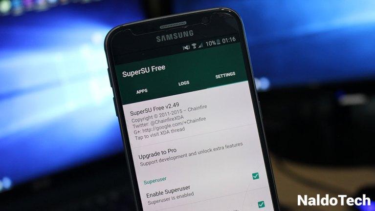 Как рутировать прошивки Galaxy S6 и S6 Edge Marshmallow с помощью SuperSU