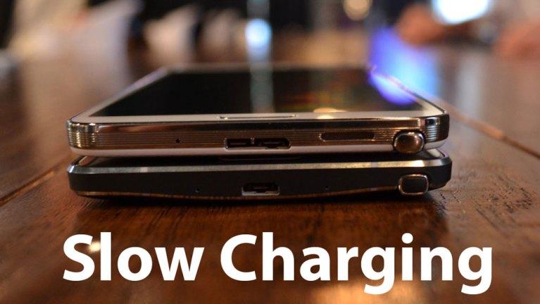 Как исправить проблему медленной зарядки и отсутствия зарядки на Galaxy Note 4