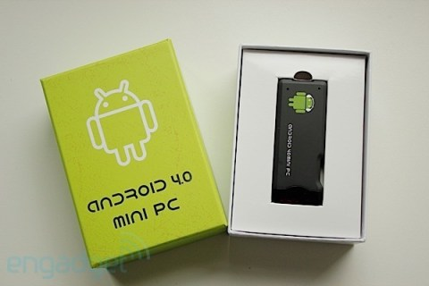 mini PC Android - caja