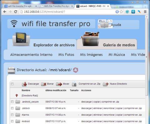 WiFi File Transfer Pro de Google Play 02