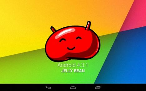 Android 4.3.1 para Nexus 7 LTE 01