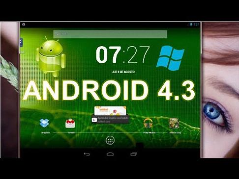 01 Android 4.3 en Windows 7