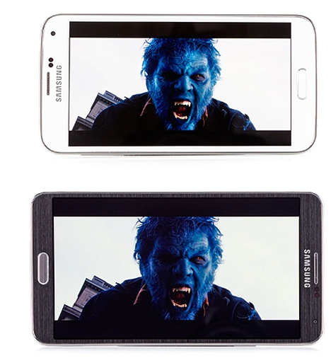 02 Comparativa entre Galaxy S5 y Note 3