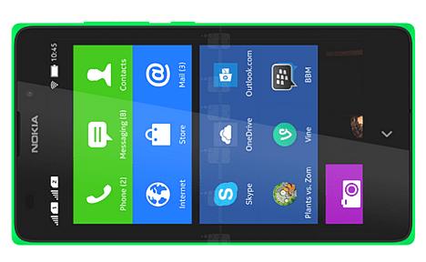 Nokia XL en la China