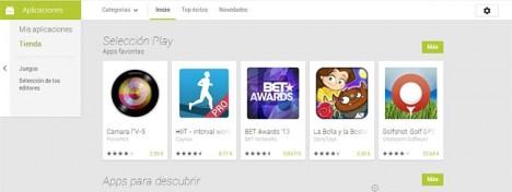 Mis Aplicaciones en Play Store