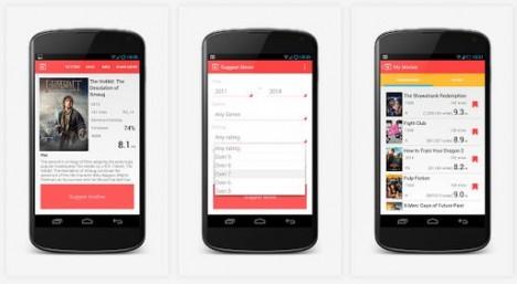 Aplicacion Android para buscar peliculas o documentales