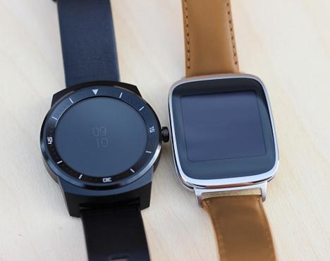Comparativa de SmartWatch de LG y Asus 01