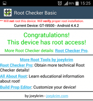 Root_Checker_Android_Mobile_Application