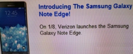 Verizon vende al Galaxy NOte Edge