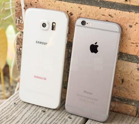 Samsung-Galaxy-S6-vs-Apple-iPhone