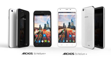 Teléfonos móviles Android 5.1 de bajo costo Archos