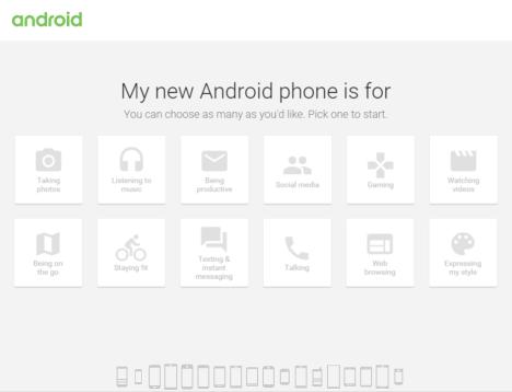 Conoce cual es el teléfono móvil Android perfecto para ti
