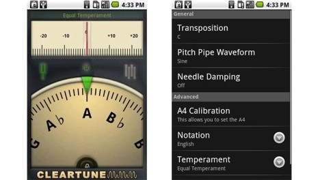 Cleartune Chromatic Tuner