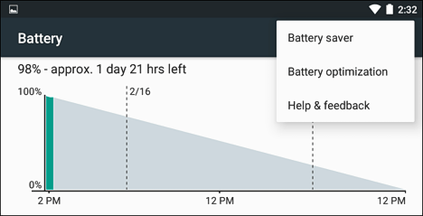 Battery Saver en Android