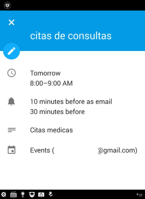 Calendario para Gmail
