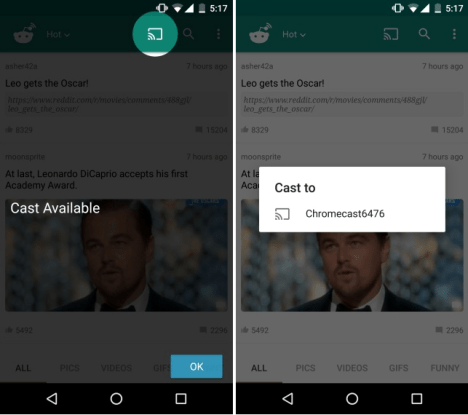 Cast for Reddit para Android