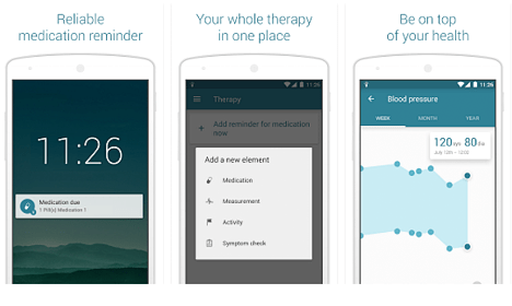 MyTherapy en Play Store y Apple Store
