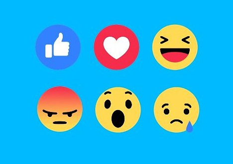 Reacciones en Facebook