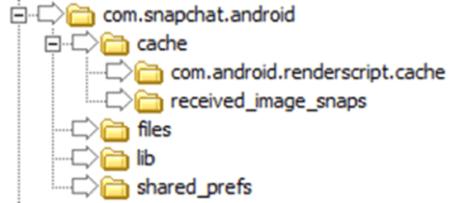 recuperar archivos borrados de SnapChat