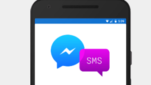 Facebook Android con SMS