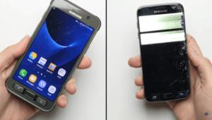 Prueba de resistencia Galaxy S7 Active