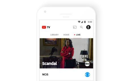 YouTube TV en Android