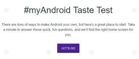 Pantalla de Inicio para Android