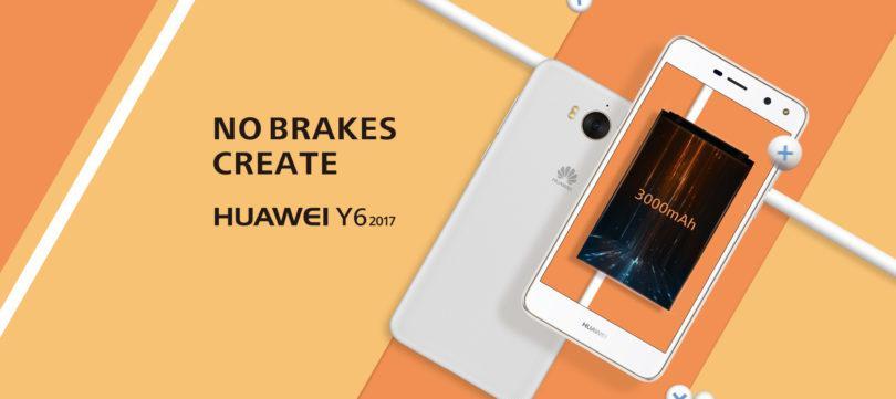 Huawei Y6 visto en web oficial francés con moderadas especificaciones