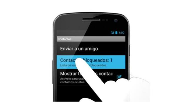 Contactos Bloqueados en WhatsApp