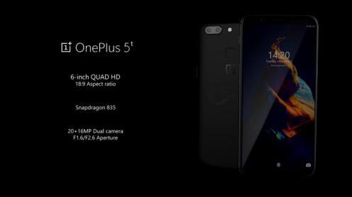 Especificaciones OnePlus 5T