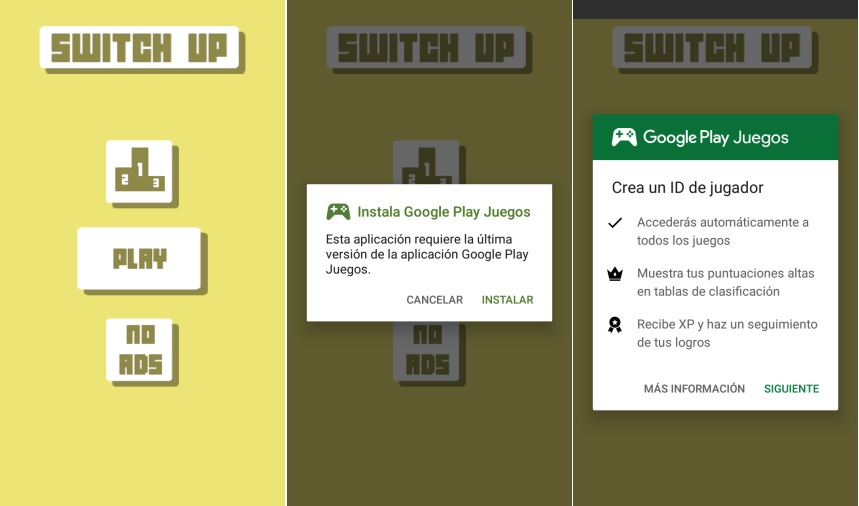 Switch Up juego retro android