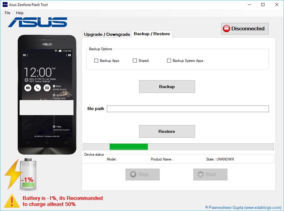 descargar Asus Zenfone Flashtool