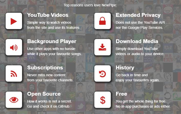 NewPipe trucos youtube Android