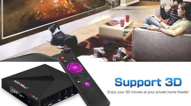 A5X MAX PLUS TV Box Android Bluetooth