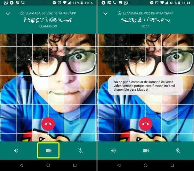 cambiarte de llamadas videollamadas WhatsApp Android
